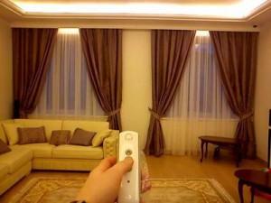 электрические карнизы для штор