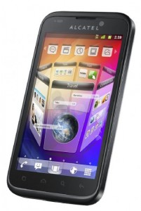 Смартфон Alcatel One Touch 995