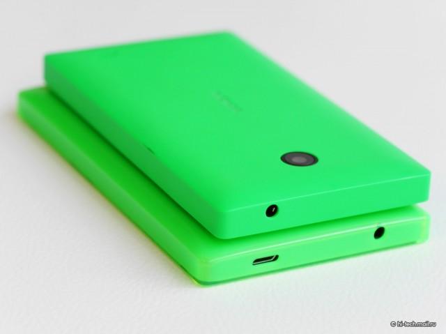 Nokia X2 зеленого цвета