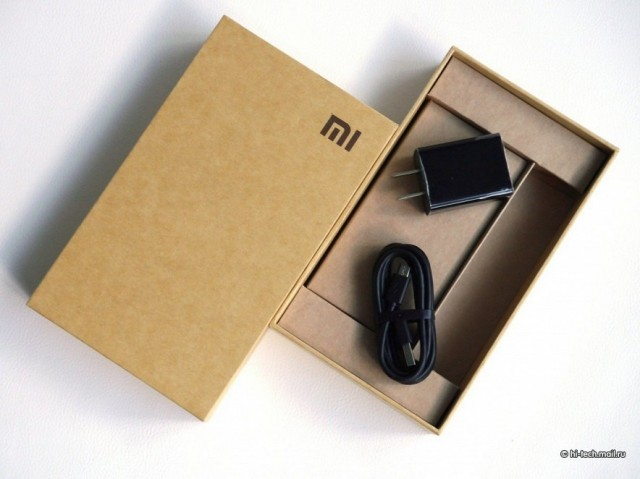 Xiaomi Mi4 комплект поставки
