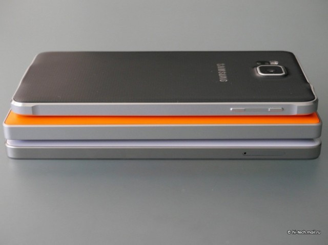 Xiaomi Mi4 сбоку
