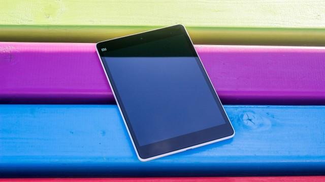 Xiaomi MiPad лицевая сторона