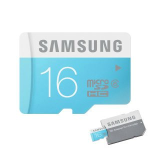 Карта памяти Samsung 16GB MicroSD HC Card - Class 6