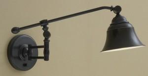 Настенный светильник бра подходит для рабочего освещения