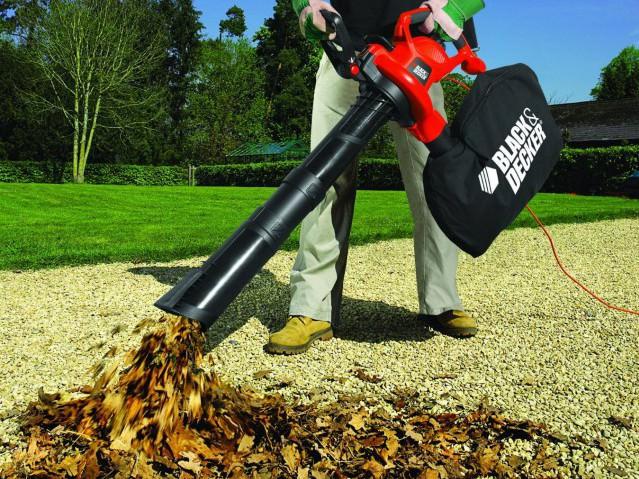Как выбрать електрический садовой пылесос
