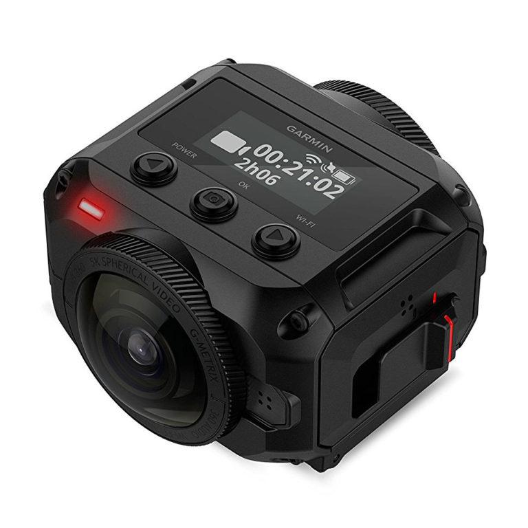Garmin Virb 360 – одна из лучших камер для панорамной съемки в экстремальных условиях