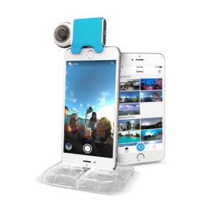 Камера-аксессуар Giroptic iO, созданная специально для iPhone и iPad