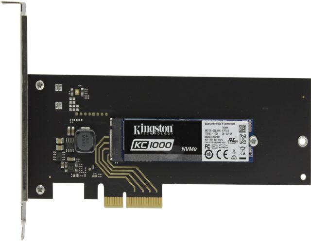 Kingston KC1000 PCIe [SKC1000H/240G]