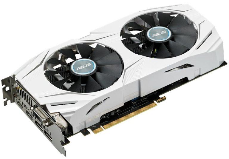 Asus GeForce GTX 1060 DUAL-GTX1060-O3G